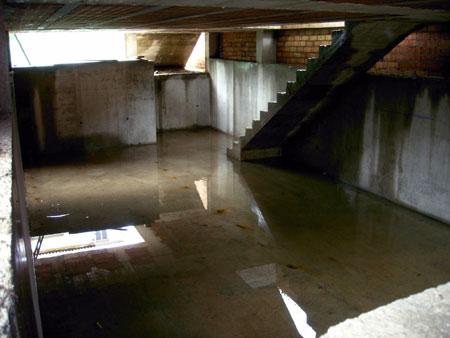 Sotanos inundados