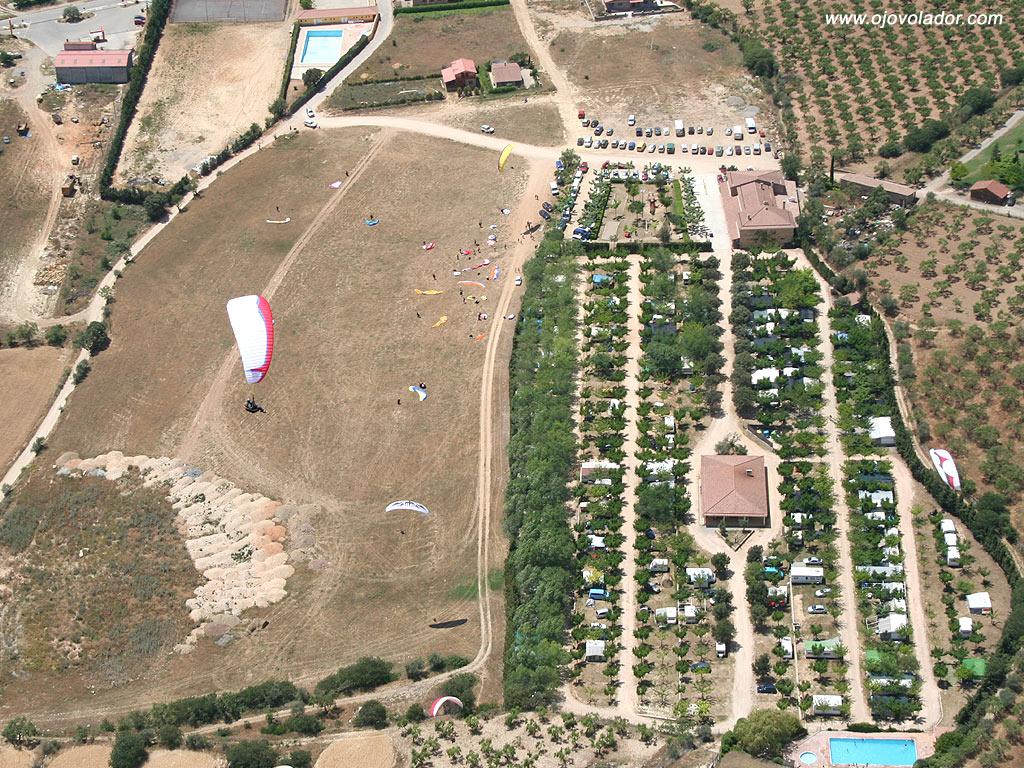 Vista aérea camping